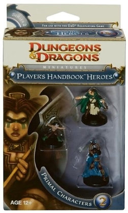 Player's Handbook Heroes: Series 2 - Primal Characters 2: A D&D Miniatures Acces