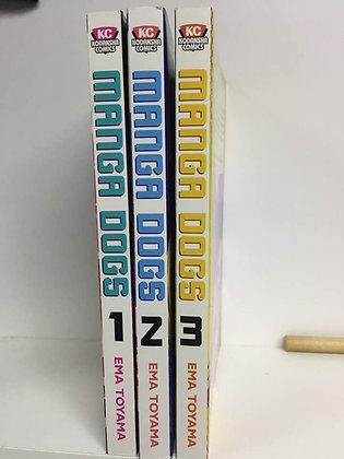 MANGA DOGS GN VOL1,2,3 Manga ( Books)  KODANSHA COMICS (W/A/CA) Ema Toyama Kanna