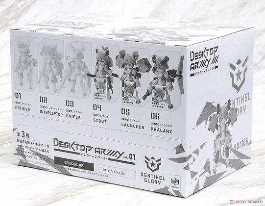Desktop Army B-101s Sylphy Series The Beta Pt [Update Ver.] (Set of 3) (PVC Fig