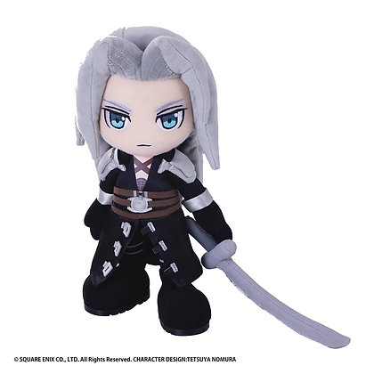 FINAL FANTASY VII SEPHIROTH PLUSH ACTION DOLL SQUARE ENIX INC From Square Enix.