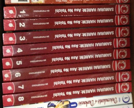 SAMURAI HAREM ASU NO YOICHI GN VOL 1,2,3,4,5,6,7,8 TOKYOPO (Manga)