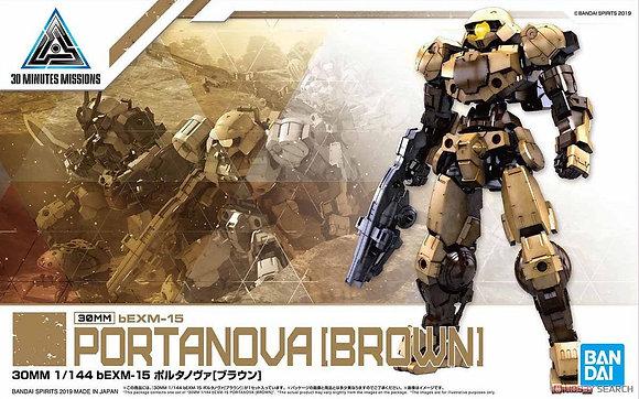*Bargain Item* 30MM bEXM-15 Portanova [Brown] (Plastic model)