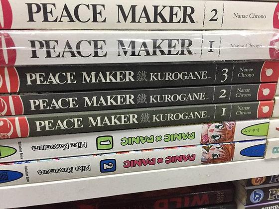 PEACE MAKER KUROGANE GN VOL 1,2,3, MANGA