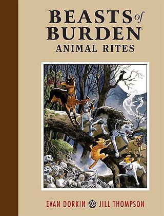 Beasts of Burden Hardcover – July 6, 2010 by Evan Dorkin  (Author), Jill Thompso