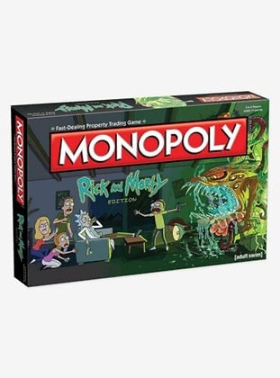Monopoly Adult Swim Rick and Morty Edition