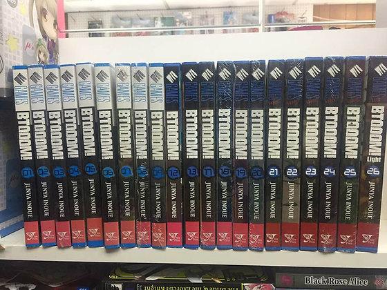 BTOOOM! Vol. 1,2,3,4,5,6,7,8,9,13,17-26 (Manga) (20 Books)