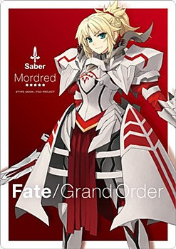 """Fate/Grand Order"" A4 Mouse Pad Saber / Mode Red by Gift"