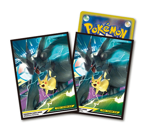 """Pokemon Card Game Sun & Moon"" Deck Shield Pikachu & Zekrom Tag Team GX"