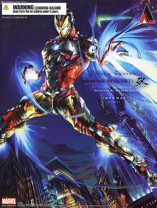 Marvel Comics Variant Play Arts Kai Iron Man (PVC Figure)