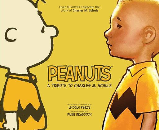 PEANUTS A TRIBUTE TO CHARLES M SCHULZ HC BOOM! STUDIOS (W/A) Matt Groening & Var