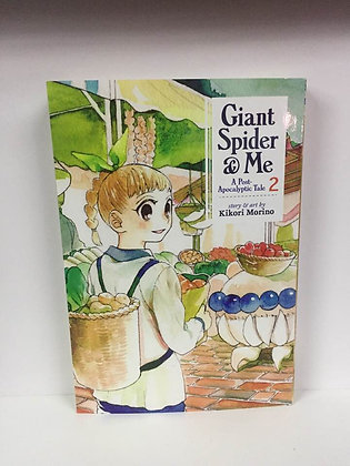 Giant Spider & Me Vol. 2: A Post-Apocalyptic Tale (Manga Books) Paperback –