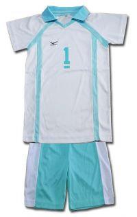 Costume: Haikyu!! - Aobajosai #1 Uniform (L) (Apparel)