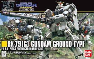 "1/144 HGUC ""Mobile Suit Gundam The 08th MS Team"" Gundam Ground Type"