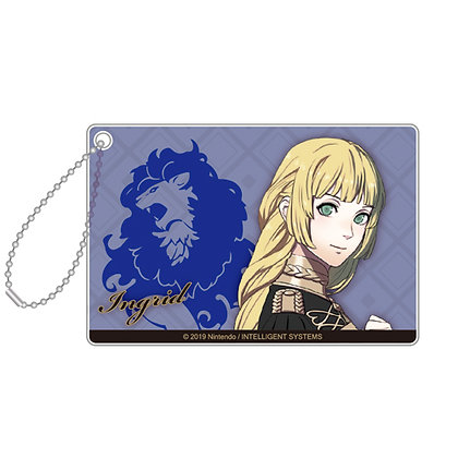 """Fire Emblem Three Houses"" Acrylic Key Chain 19 Ingrid"