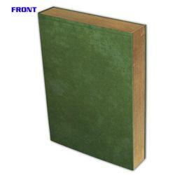 BCW COMIC BOOK STOR-FOLIO: 1.5 INCH ART - GREEN BOOK