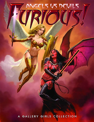 FURIOUS ANGELS VS DEVILS TP GALLERY GIRL COLLECTION (MR) SQPINC (W/A/CA) Various