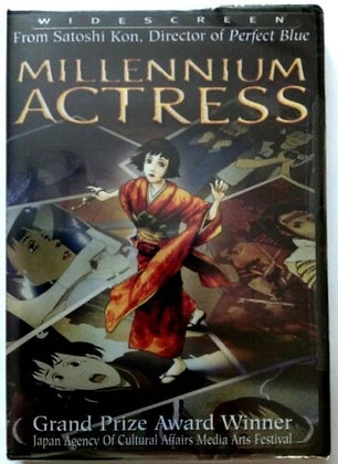 Millennium Actress DVD