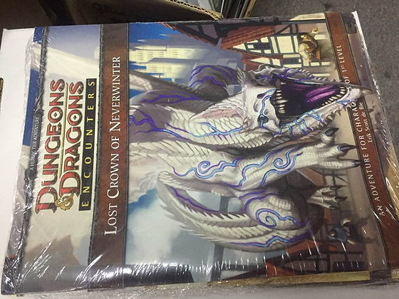 Dungeons and Dragons Encounters Lost Crown of Neverwinter Adventure Module