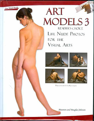 ART MODELS BK 03 LIFE NUDE PHOTOS FOR VISUAL ARTS W DVD (MR) INDEPENDENT PUBLISH