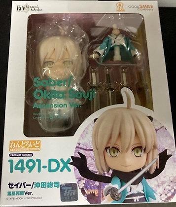 Fate/Grand Order: Saber/Okita Souji (Ascension Version) Deluxe Nendoroid