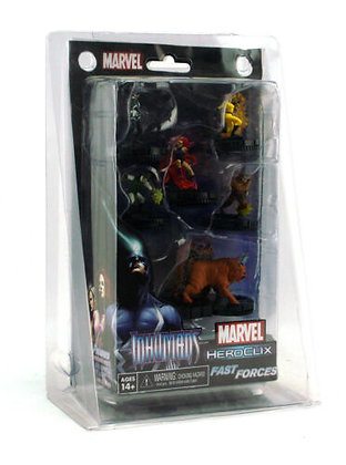 Marvel HeroClix: Guardians of The Galaxy - Inhumans Fast Forces Pack