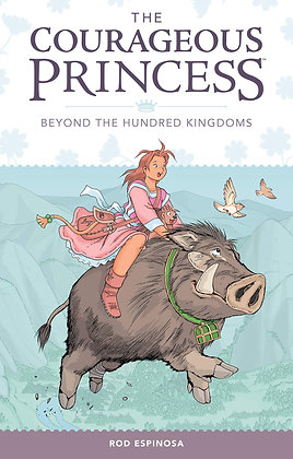 Courageous Princess Volume 1 Beyond The Hundred Kingdoms