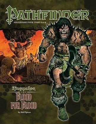 Pathfinder Adventure Path: Kingmaker: Blood for Blood Paperback – July 13, 2010