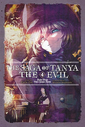 Saga of Tanya the Evil Novel Vol.1,2,3,4