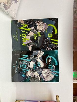 CALL OF THE NIGHT GN VOL 1 ,2 (Manga)  VIZ LLC  (W) Kotoyama