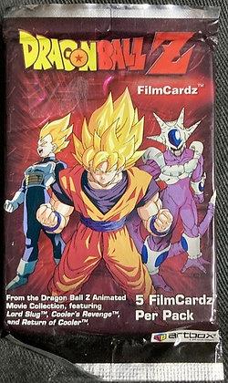 One Sealed Dragonball Z Filmcardz Booster Pack