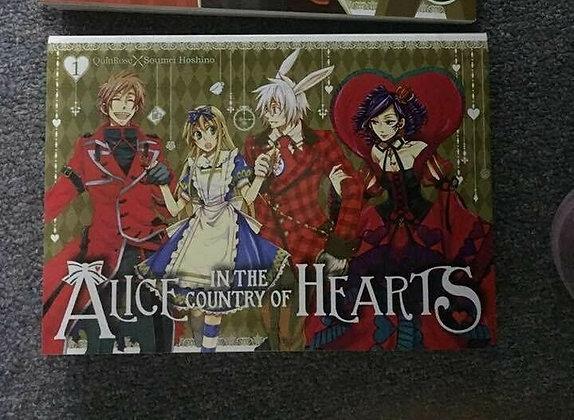 ALICE IN COUNTRY OF HEARTS OMNIBUS TP VOL 1  English Manga   YEN PRESS