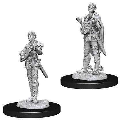 Nolzur's Marvelous Minis: Female Half-Elf Bard