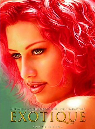 EXOTIQUE: The World's Most Beautiful CG Characters Paperback – November 8, 2005