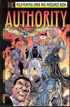AUTHORITY RPG & RESOURCE BOOK HC GUARDIANS OF ORDER What if super-heroes
