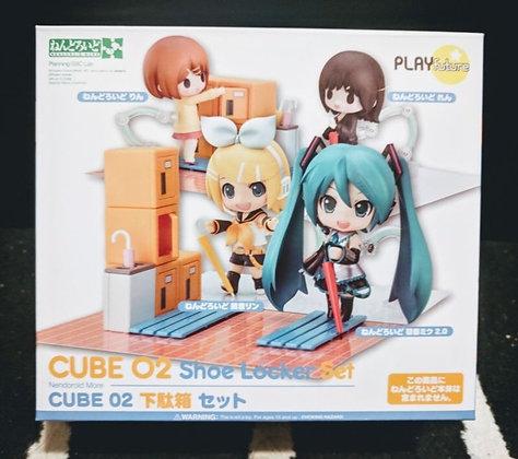 Nendoroid More CUBE 02 Shoe Locker Set PLAY FUTURE from Japan