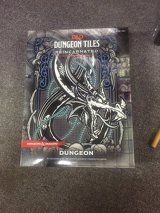 D&D DUNGEON TILES REINCARNATED: DUNGEON (Dungeons & Dragons) Game