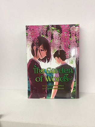 GARDEN OF WORDS Manga (MR)  VERTICAL INC  (W/A/CA) Makoto Shinkai