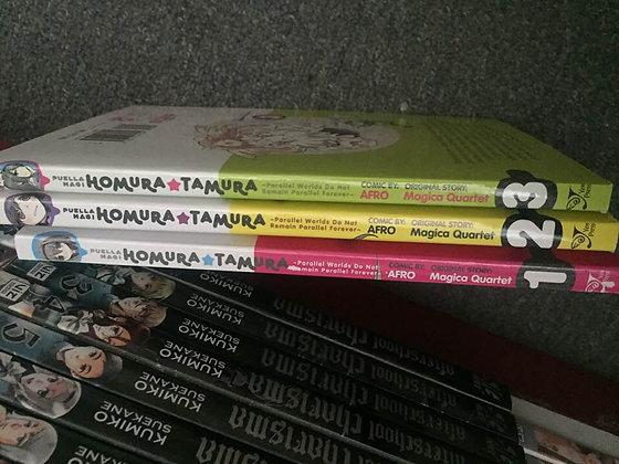 Puella Magi Homura Tamura  Vol. 1,2,3, (Manga)