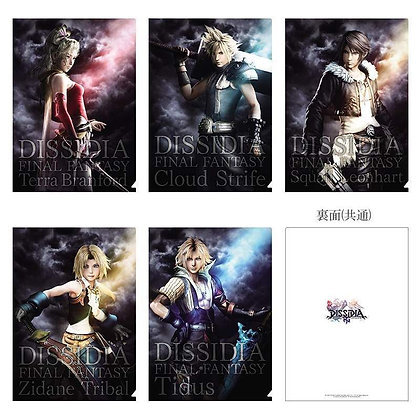 Set of 5 Square Enix Final Fantasy NT Clear File Set
