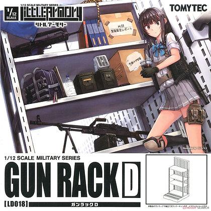 1/12 Little Armory (LD018) Gun Rack D (Plastic model)