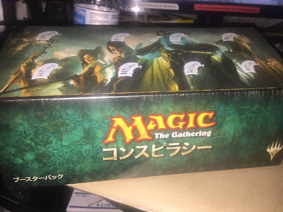Magic the Gathering Japanese Conspiracy Sealed Booster Box MTG