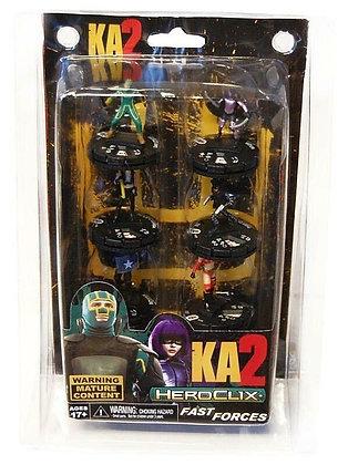 Kick Ass 2 HeroClix Fast Forces 6-Mini Figure Pack