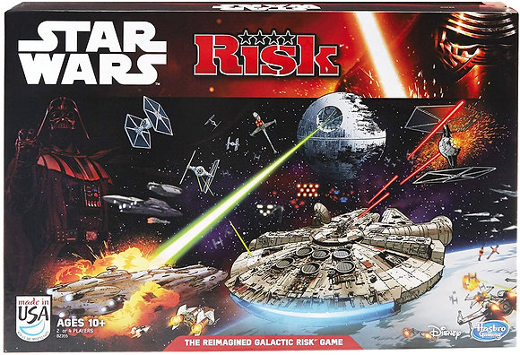Risk: Star Wars Edition Game by Hasbro Gaming