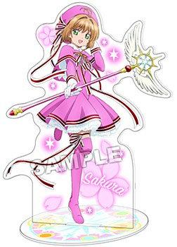 """Cardcaptor Sakura: Clear Card Arc"" Acrylic Stand Sakura Battle Costume"
