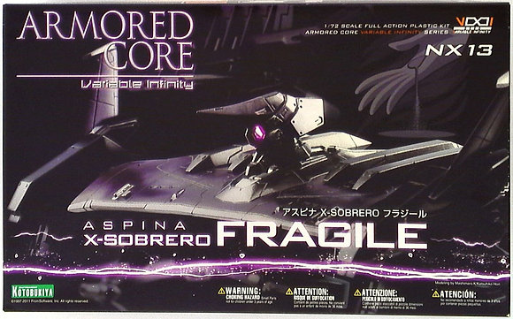 KotobukiyaArmored CoreAspina X-SOBRERO Fragile (Plastic model)
