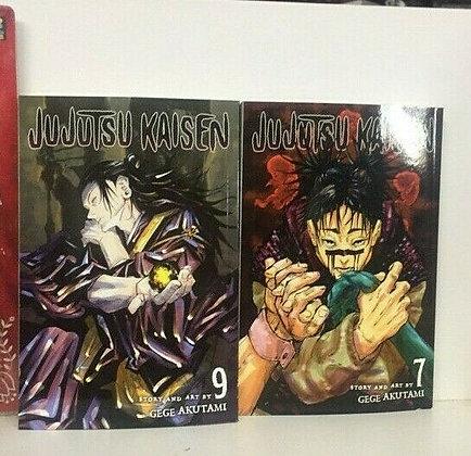 Jujutsu Kaisen, Vol. 7,9 ( 2 manga) Paperback – December 1, 2020  byGege Akutam