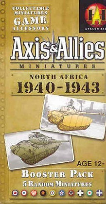 Axis & Allies Miniatures: North Africa 1940-1943: An Axis & Allies Miniatures ex
