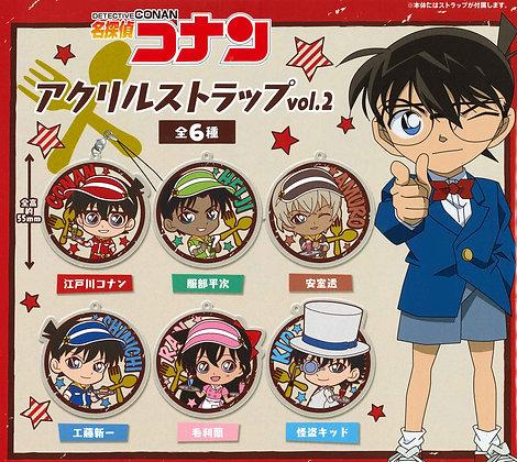 """set of 6 """"Detective Conan"""" Acrylic Strap Vol. 2"""