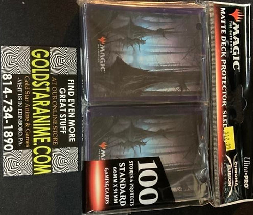 Magic The Gathering Card Sleeves - Unstable Swamp (100)