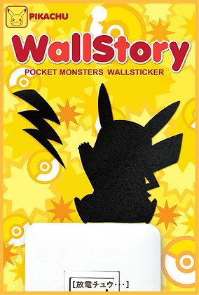 """Pokemon"" Wall Story Pokemon Series Pikachu Wall Sticker Electrical Discharge ch"